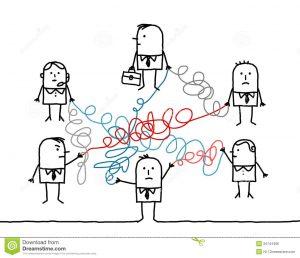 gens-d-affaires-relis-par-les-ficelles-embrouilles-34144406