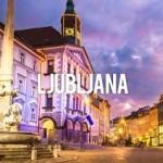LJUBLJANA, capitale de la SLOVENIE, Capitale verte Europe 2016