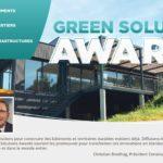 GREEN SOLUTION AWARDS 2019